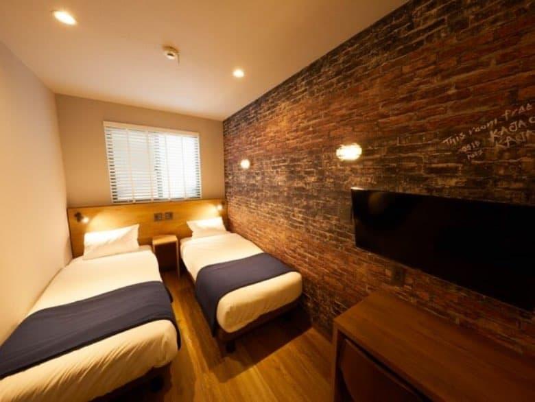 写真:変形型・台形型などの土地を利用した部屋